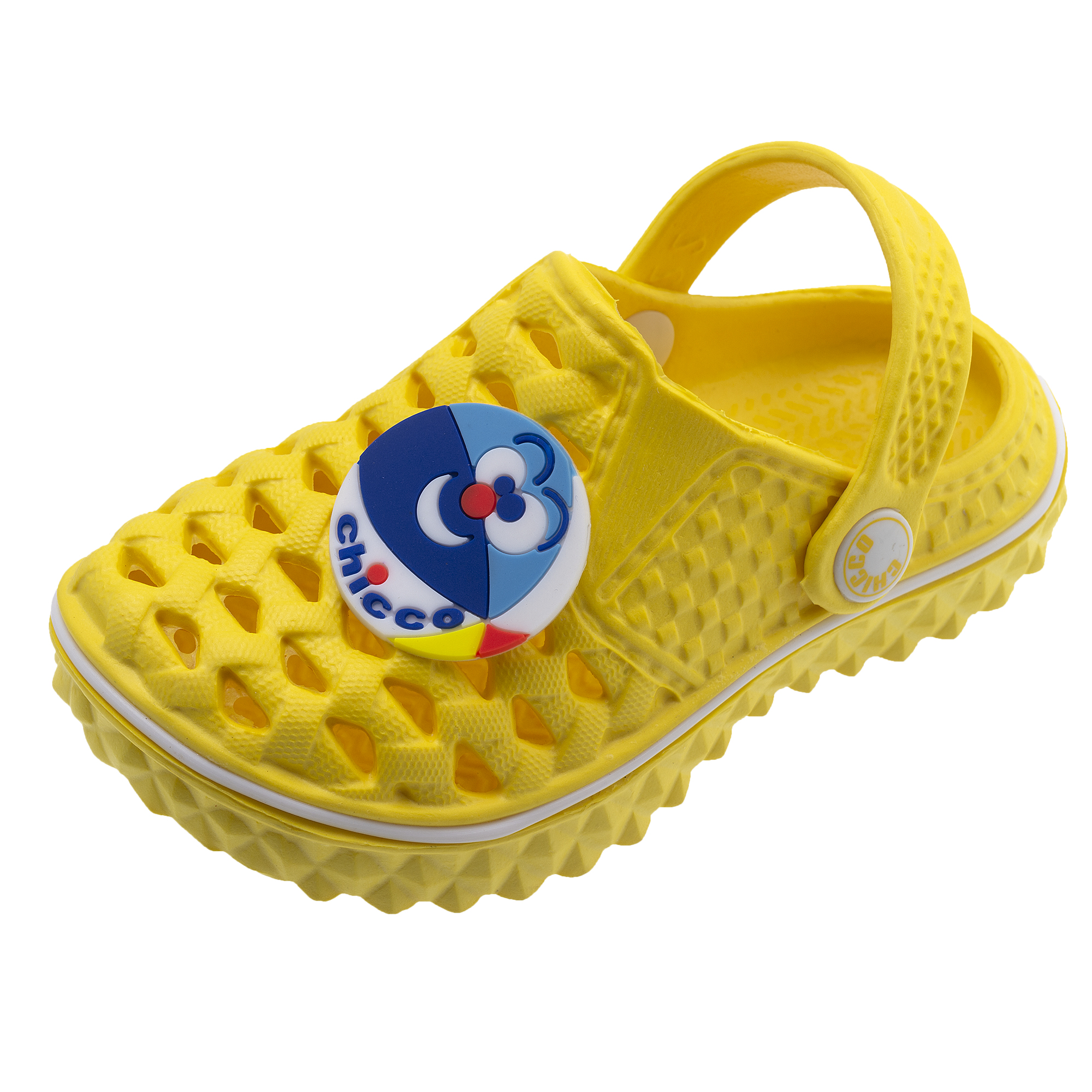 Papuci Copii Chicco, Bareta, Galben, 61751 imagine