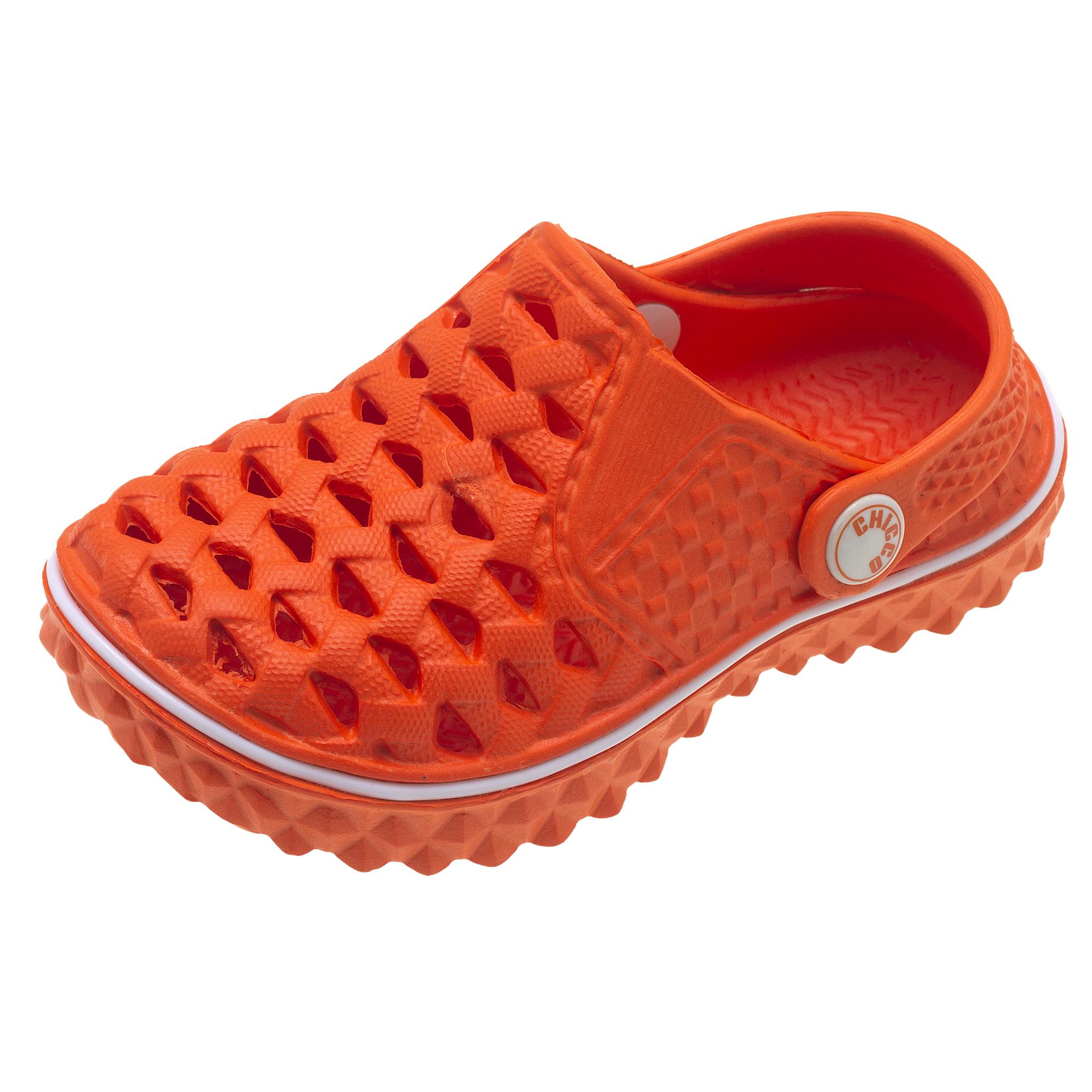 Papuci De Plaja Pentru Copii Chicco Mango, Portocaliu, 61751 imagine