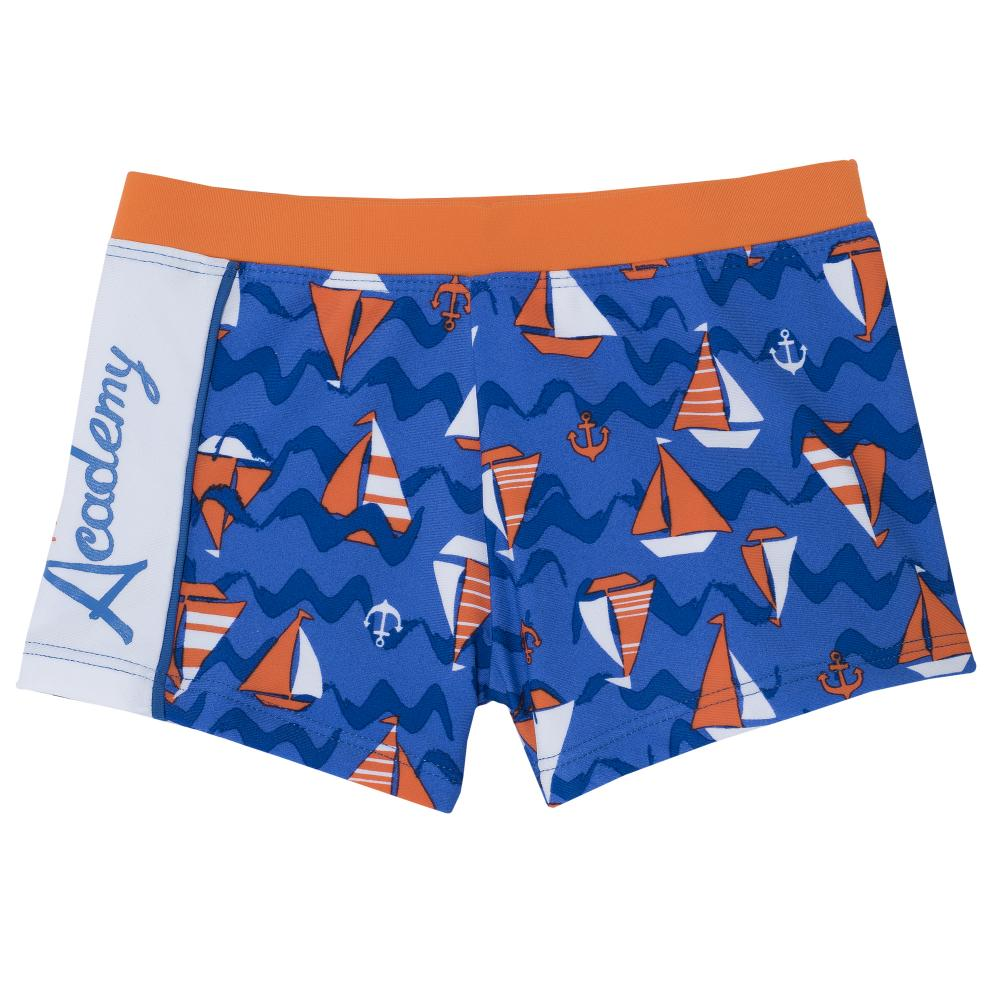 Slip baie baieti Chicco, albastru cu model din categoria Plaja/Baie