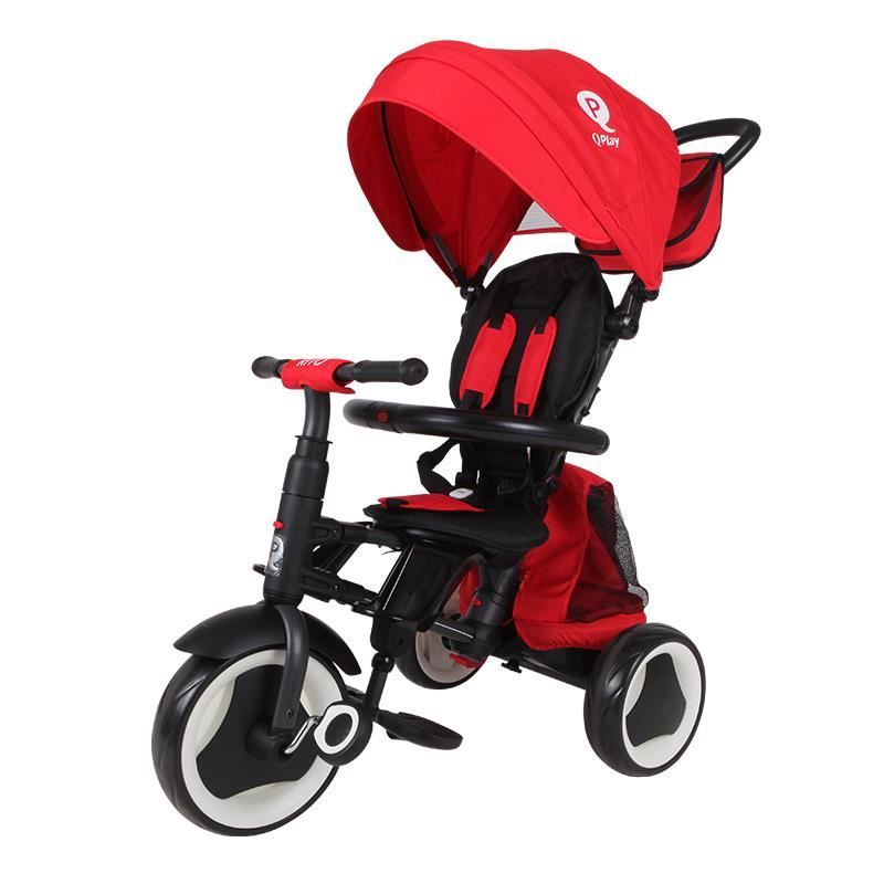 Tricicleta Copii Rito Plus, Rosu, 12luni-3ani imagine