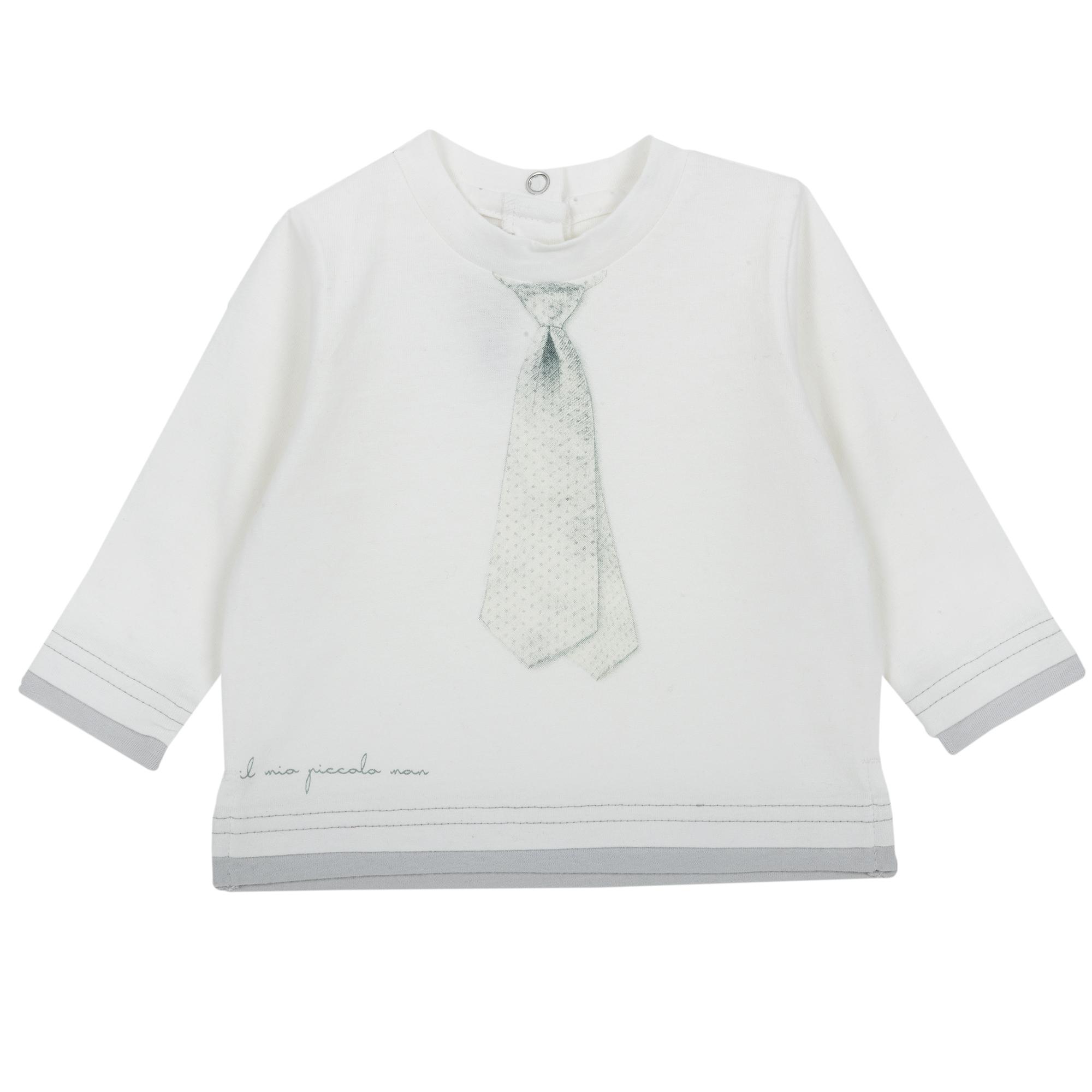 Tricou copii Chicco alb 86