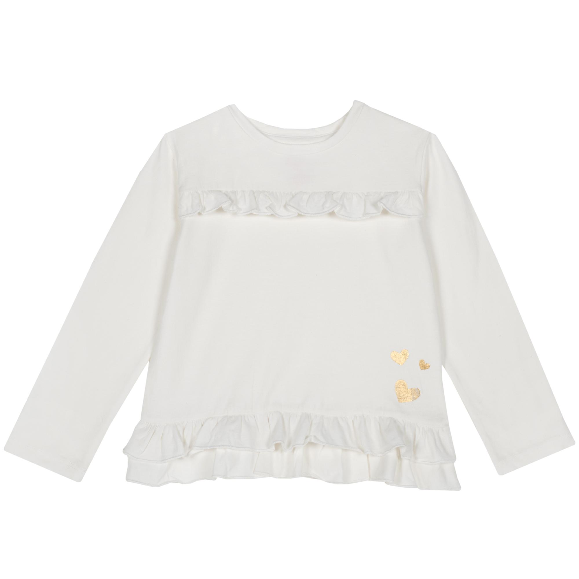 Tricou copii Chicco, alb, 06533