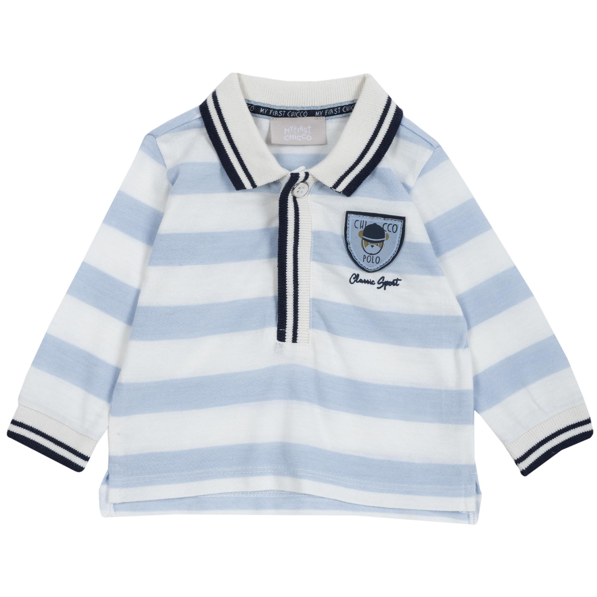 Tricou copii Chicco, bleu deschis