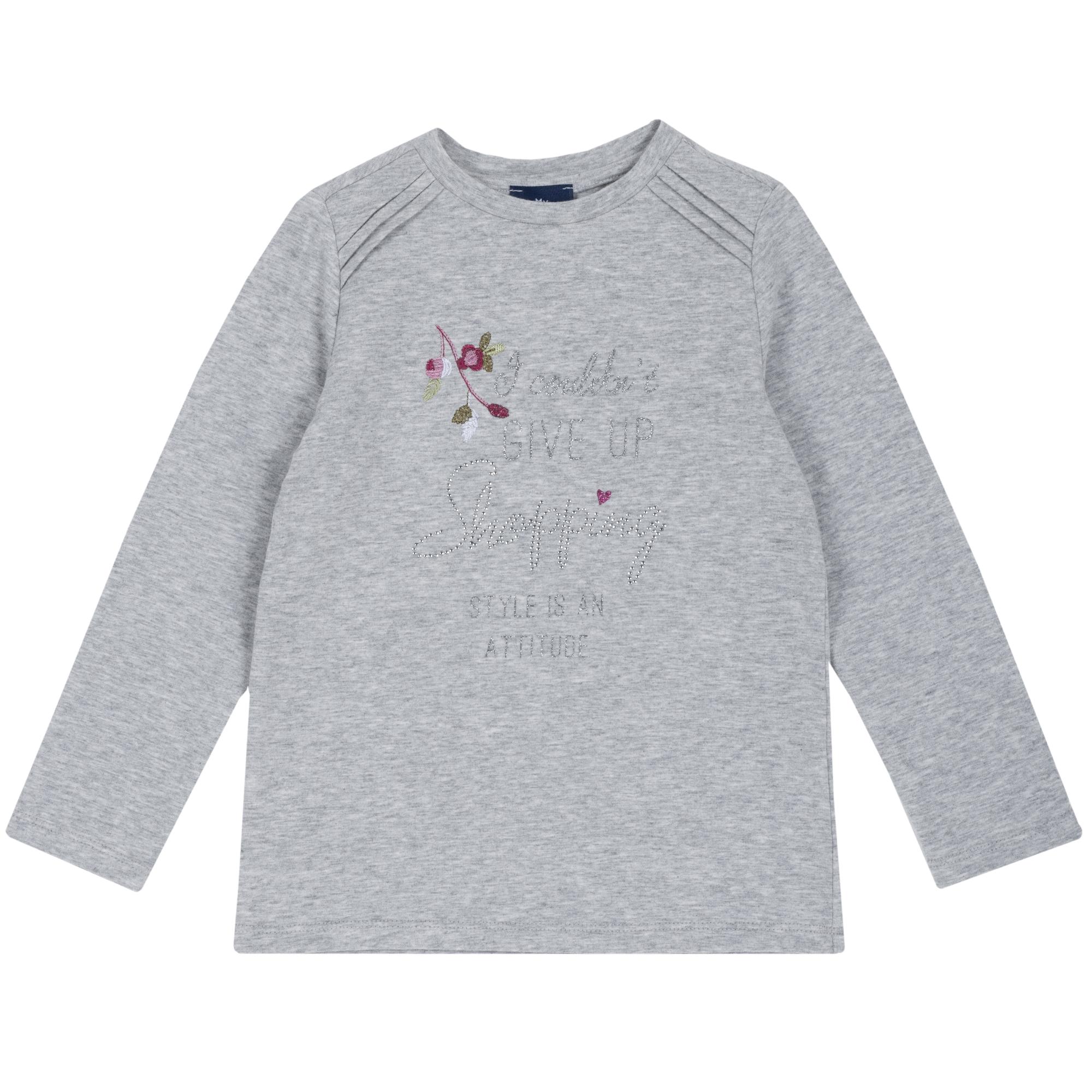 Tricou copii Chicco, gri, 06527