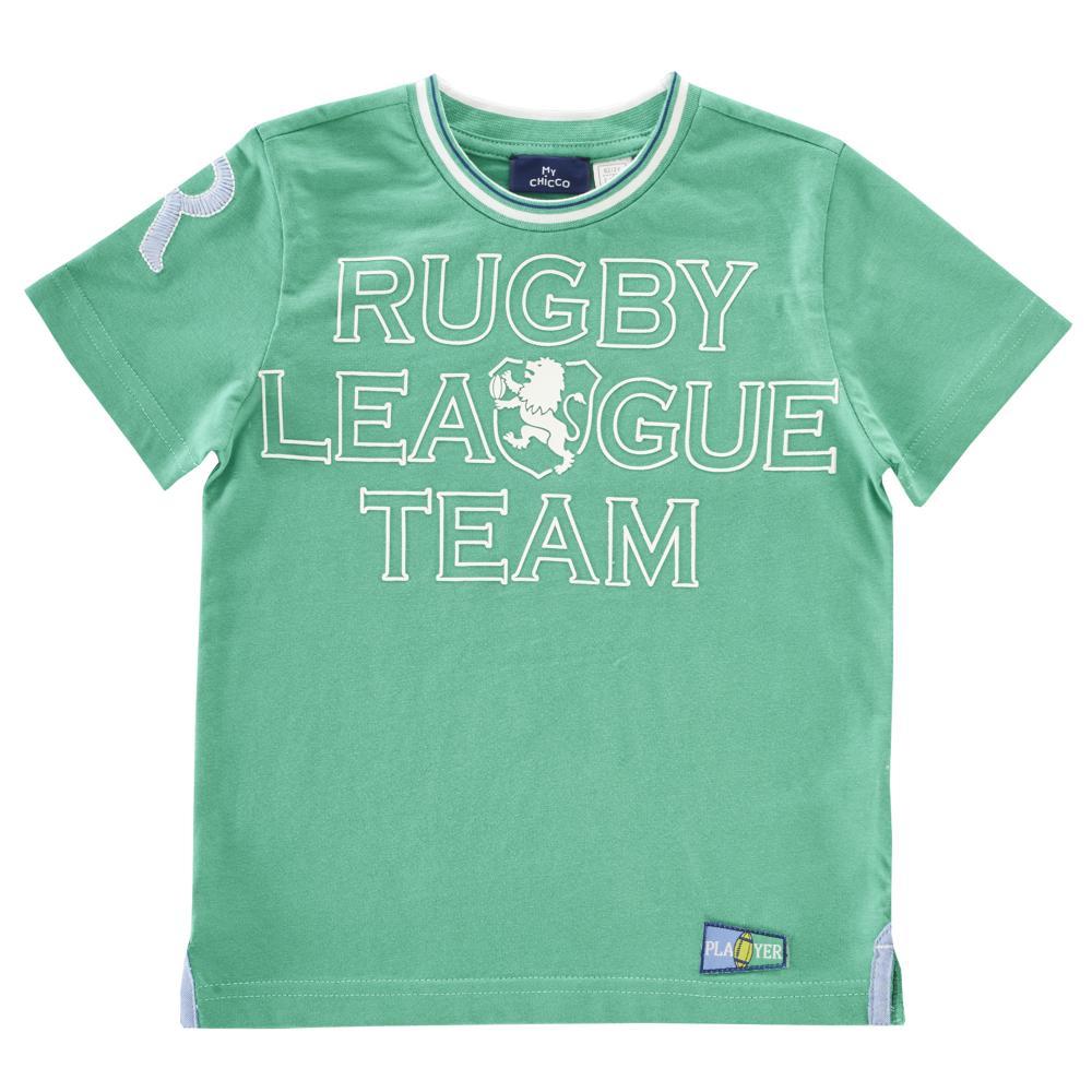Tricou copii Chicco, maneca scurta, verde din categoria Tricouri copii