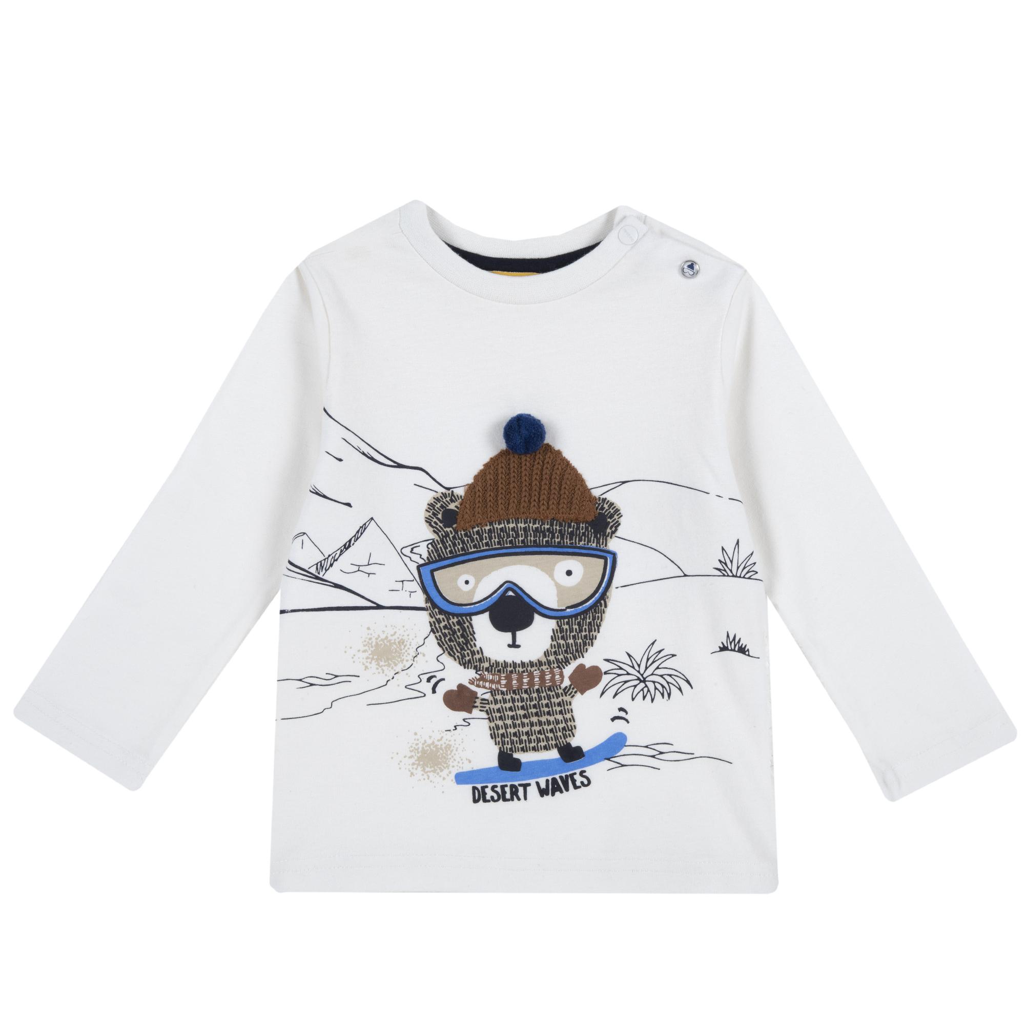 Bluza Copii Chicco, Alb, 47624 imagine