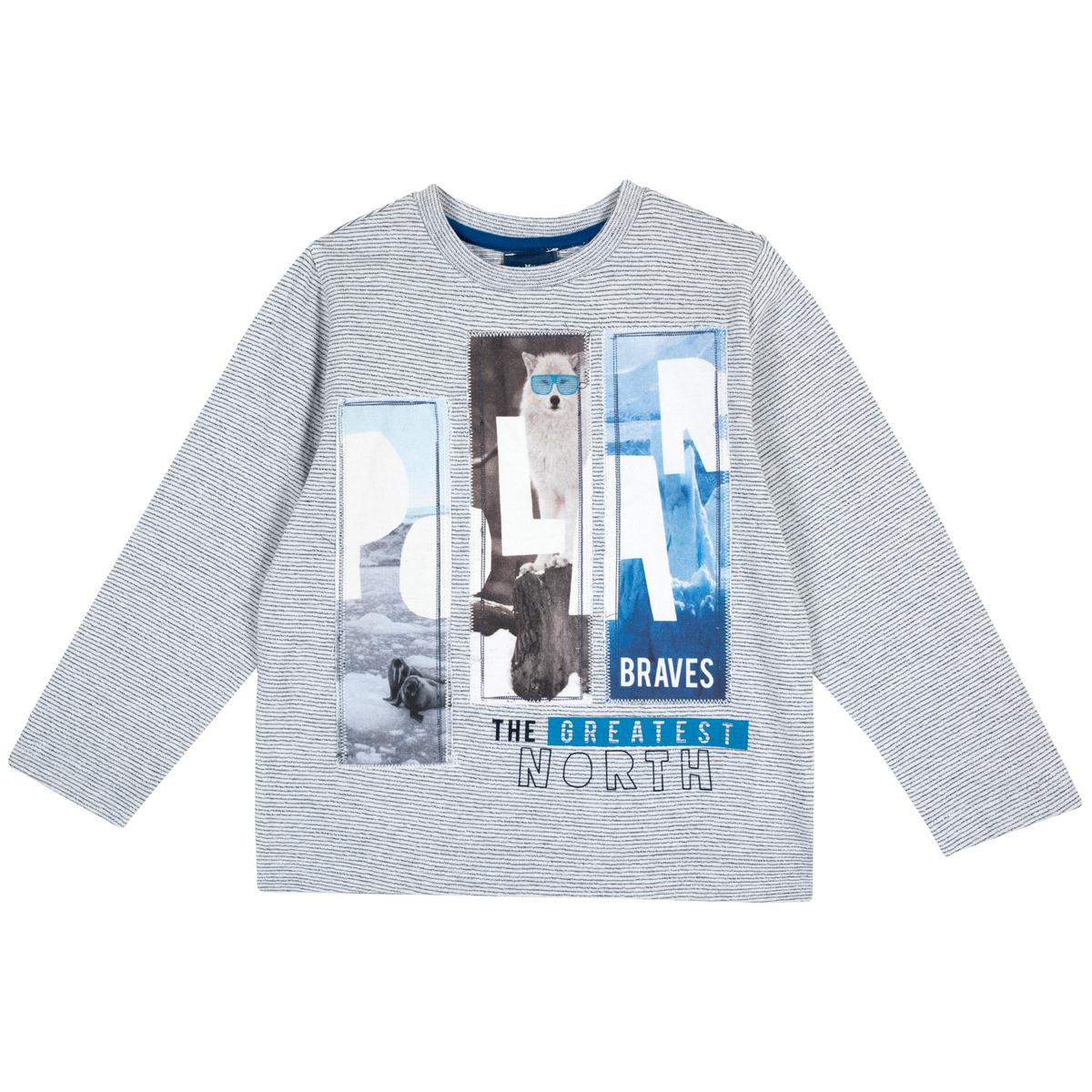 Tricou cu maneca lunga Chicco, imprimeu polar, 06798