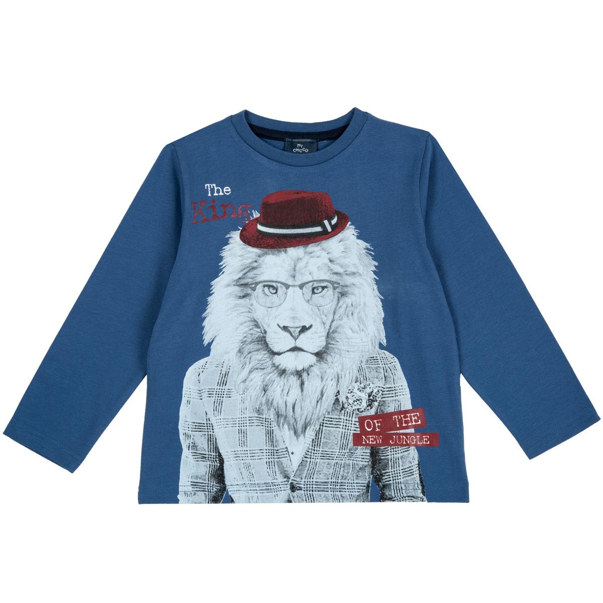 Bluza Copii Chicco, Albastru, 47820 imagine