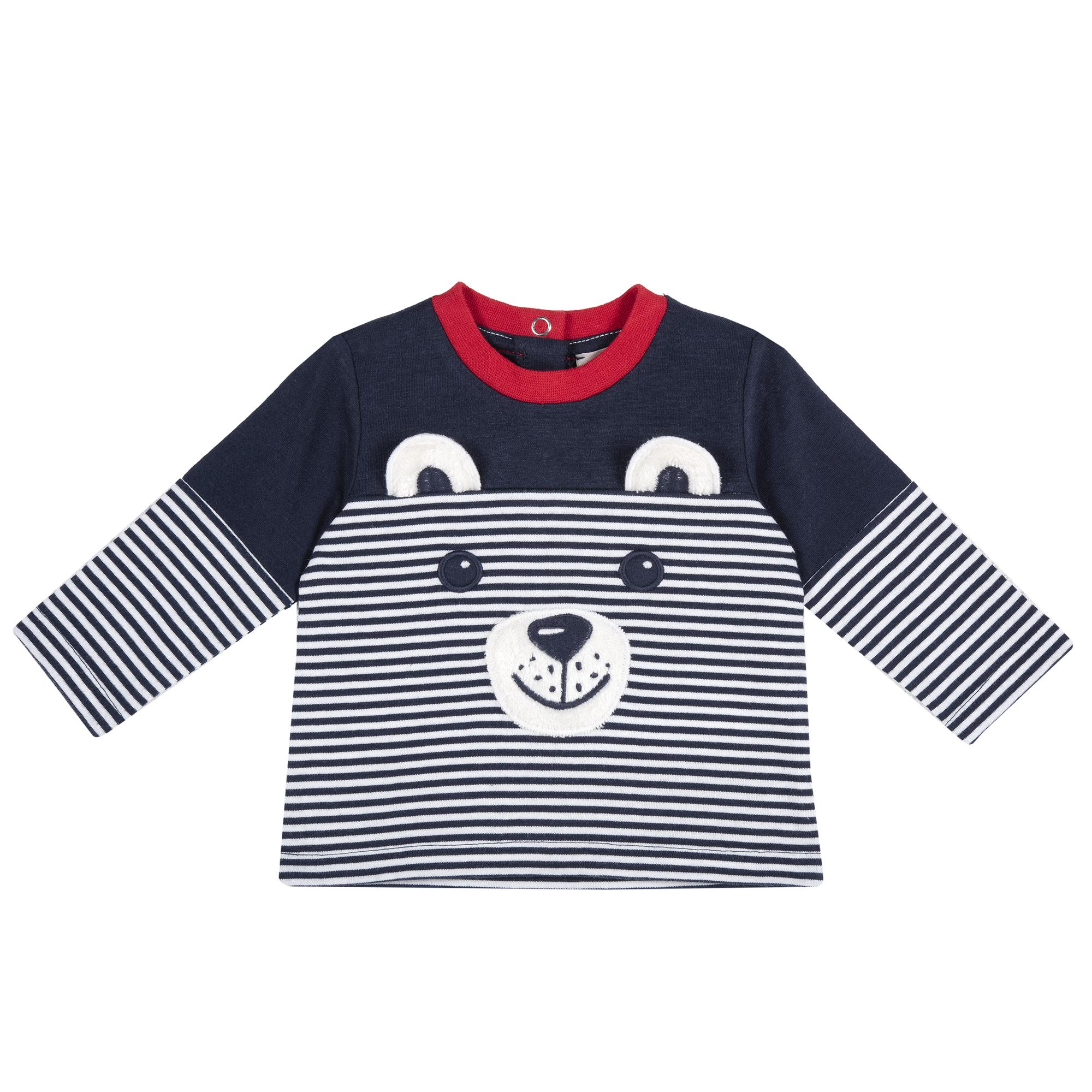 Bluza Copii Chicco, Aplicatii Vesele, 68684 imagine