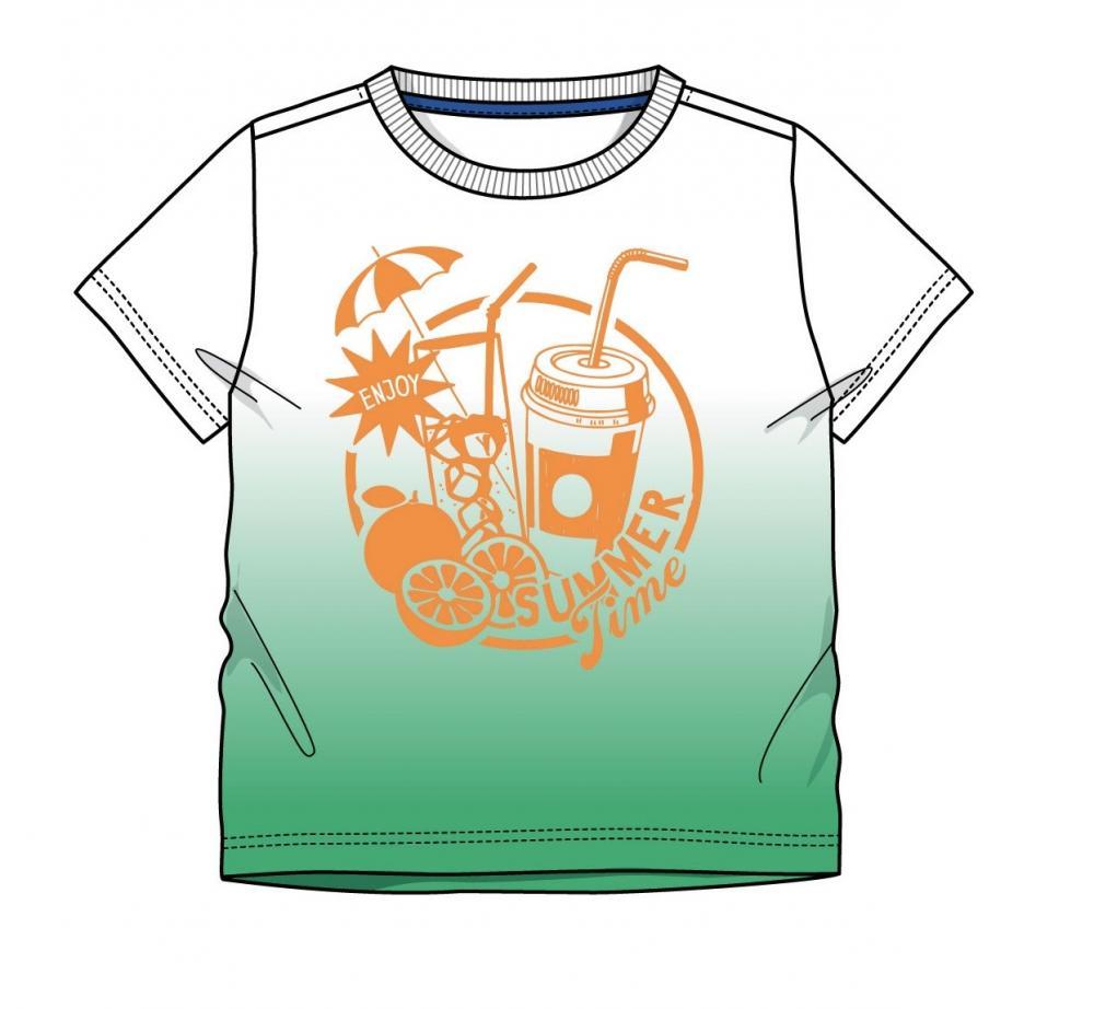Tricou Chicco, Verde Cu Model, 53866