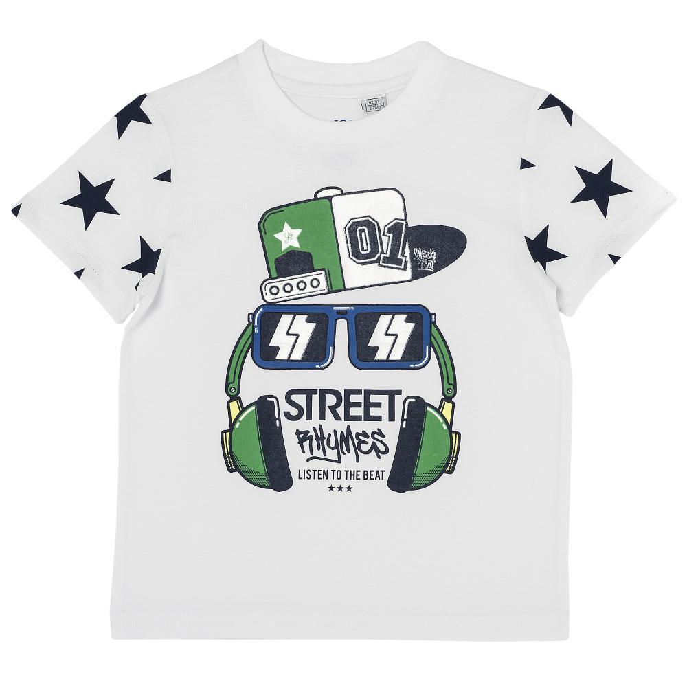 Tricou pentru copii Chicco, baieti, street rhymes