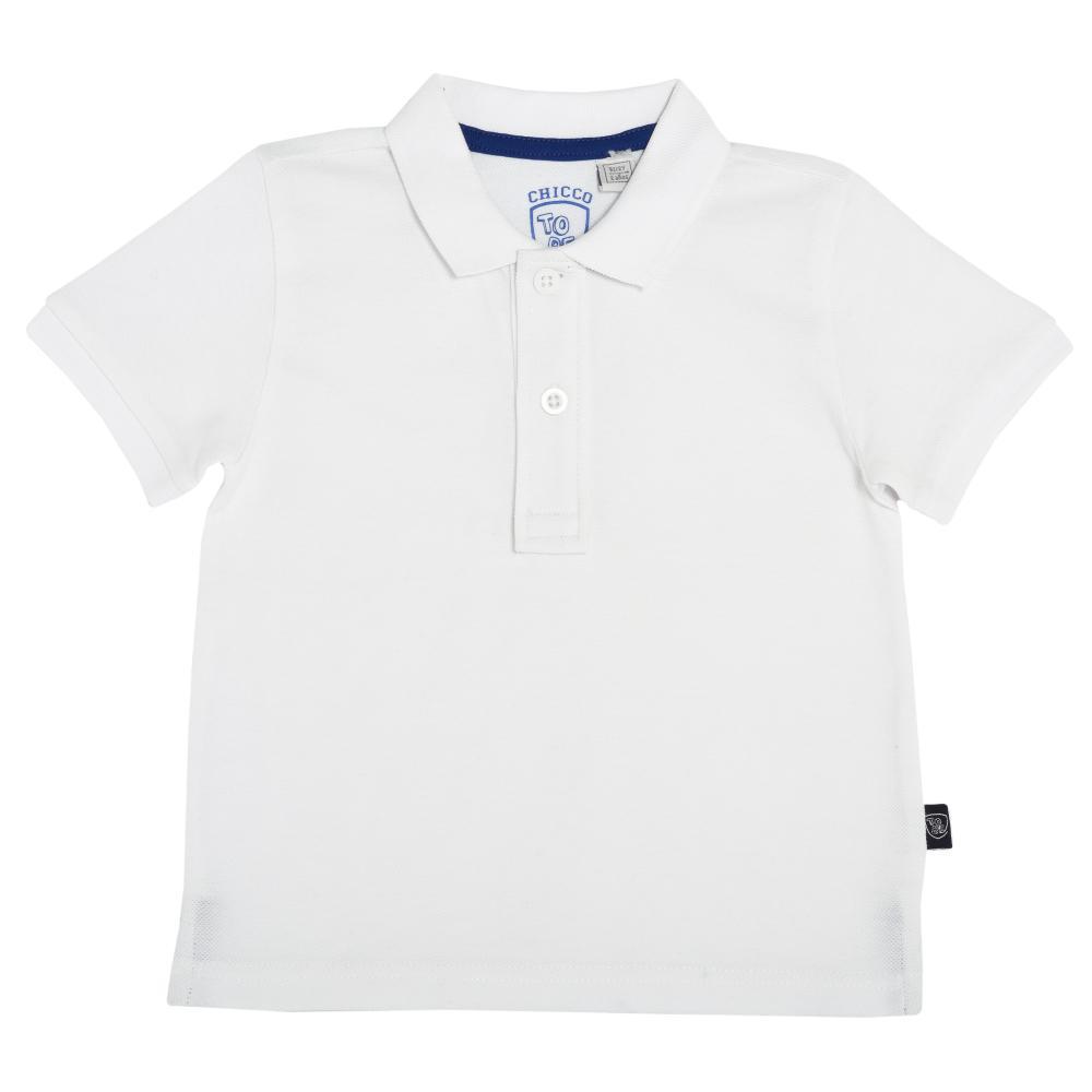 Tricou Polo Copii Chicco Alb 74