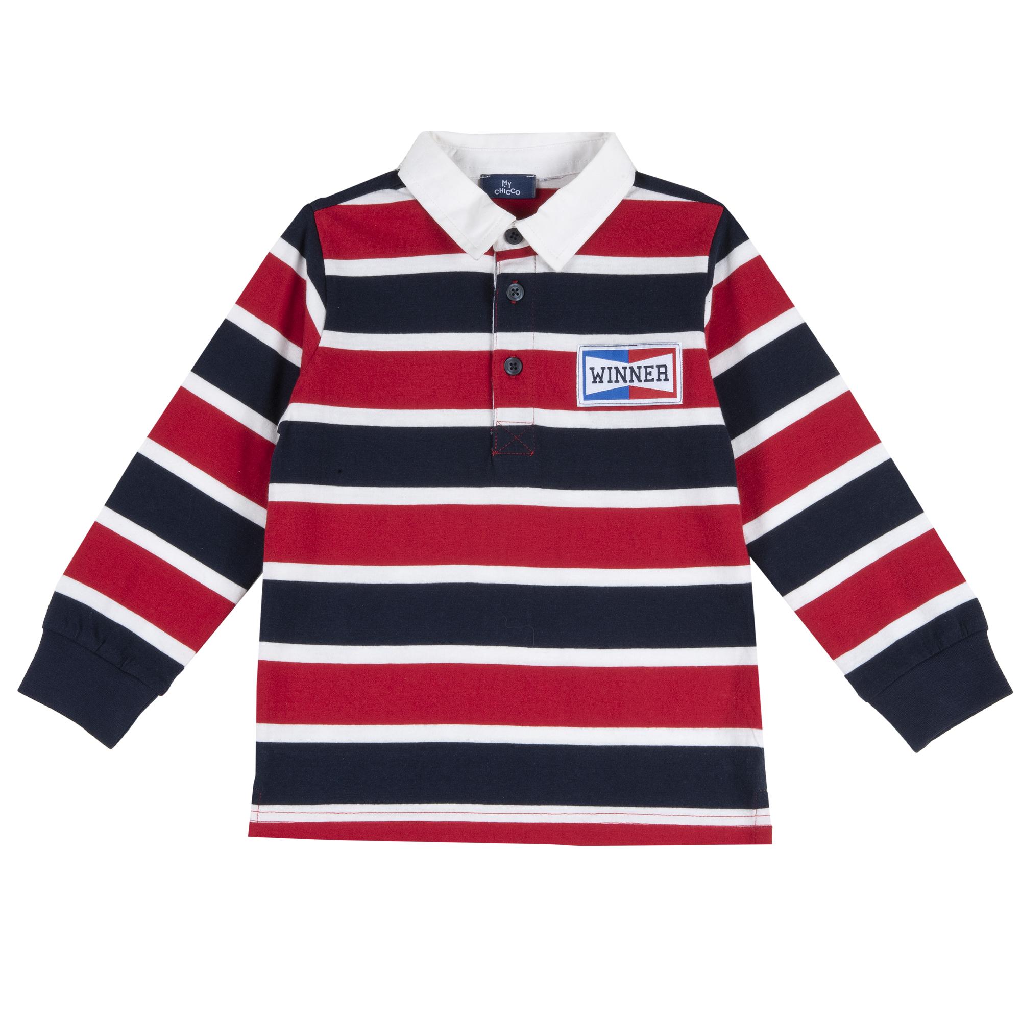 Bluza Copii Chicco, Tip Polo, Rosu, 33149 imagine