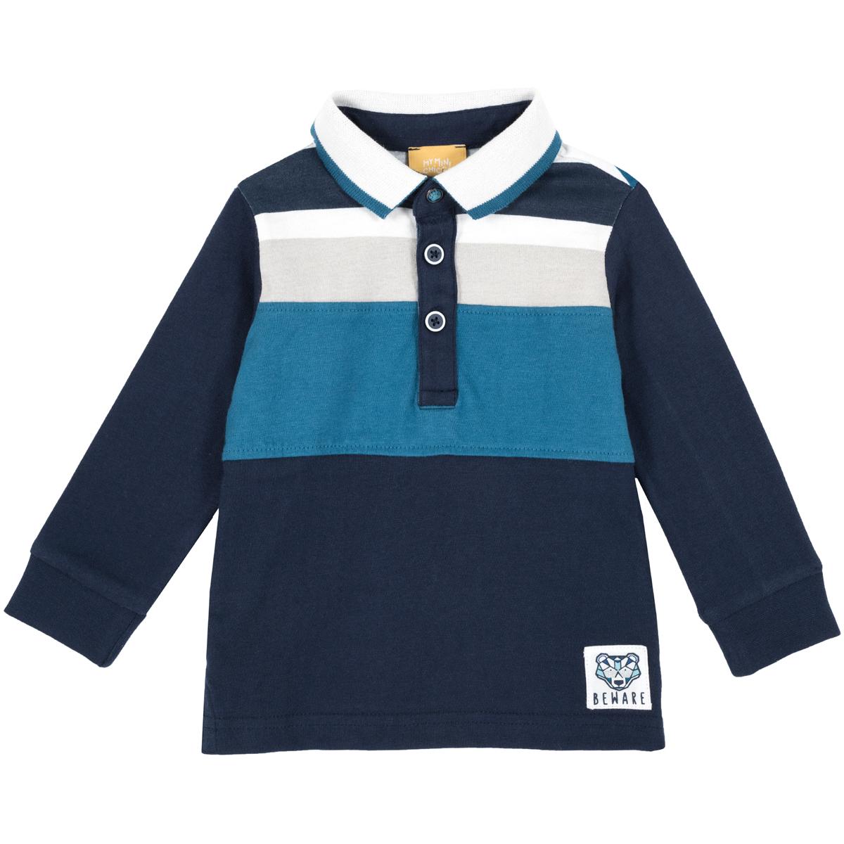 Tricou copii polo Chicco, maneca lunga, 33515 din categoria Tricouri copii