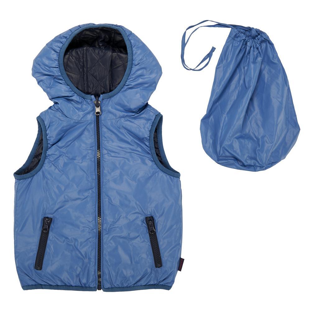 vesta reversibila copii chicco, thermore, albastru si bleumarin