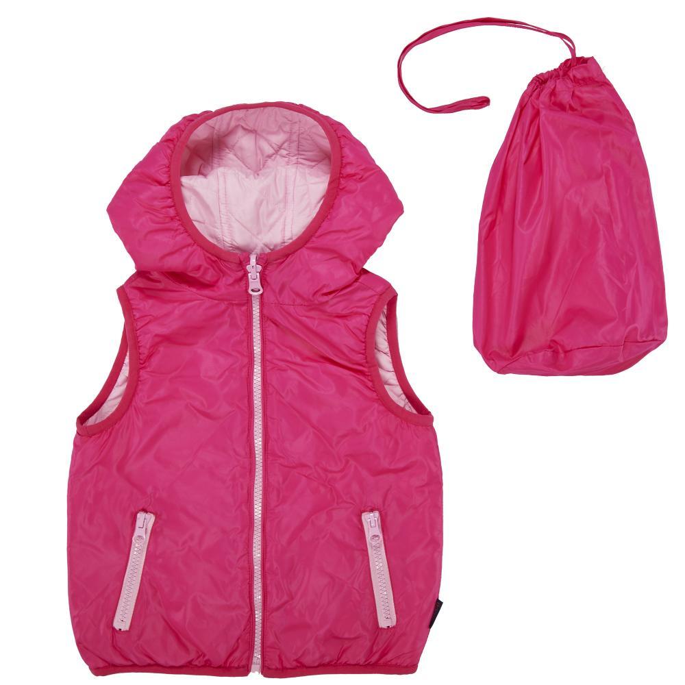 Vesta reversibila copii Chicco, Thermore, roz deschis cu roz inchis