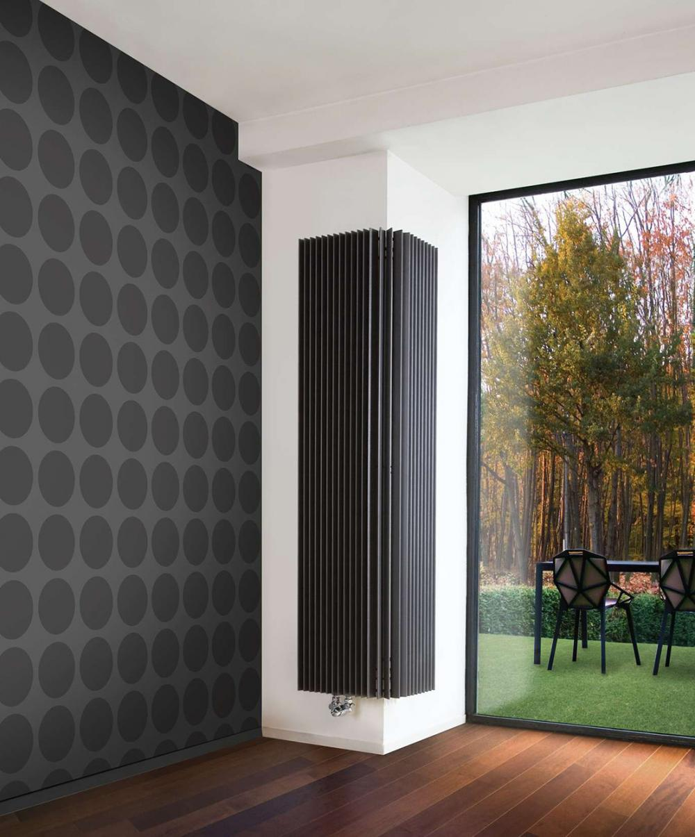Calorifere decorative de colt Jaga Iguana Angula Plus 2200x510x400 mm, 2732 W