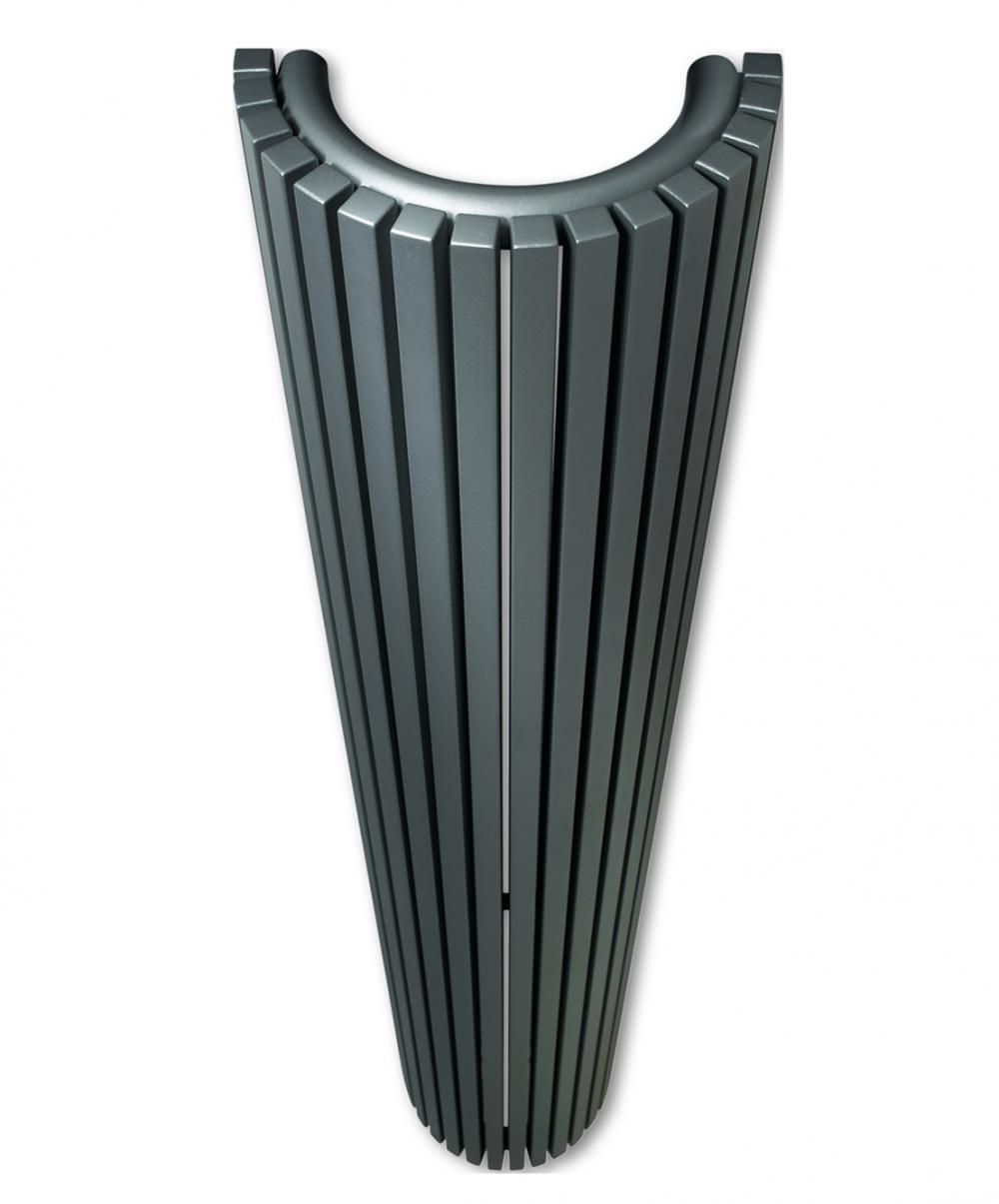 Calorifere decorative semirotunde Vasco Carre CR-O 1800x430 mm, 1981 W