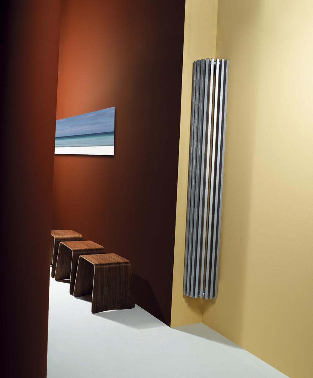 Calorifere decorative de colt Vasco Zana ZV-A 1400x322 mm, 857 W