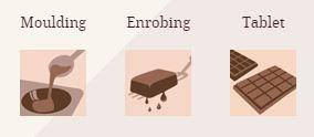Ciocolată cu lapte PREMIUM - GHANA - cacao 40.5% - 1kg - Cacao Barry