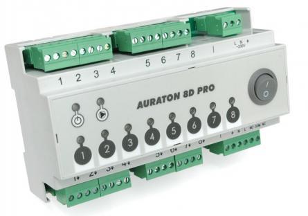 Centru de comanda actuatoare si termostate Auraton 8D PRO