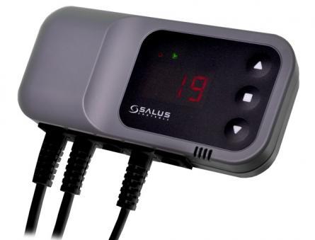 Controler termostat pompa si ventilator PC16F