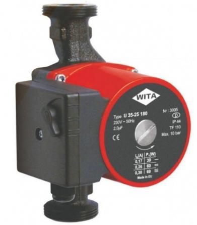 Pompa recirculare Helwita U75/25 180