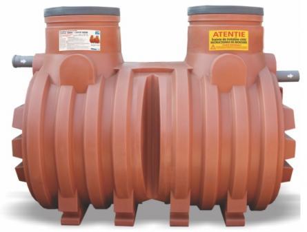 Separator de hidrocarburi AquaClean din polietilena cu montare subterana NS10 FS2000