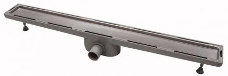 Sifon tip rigola faiantabila pentru cabina dus cu gratar inox 790mm