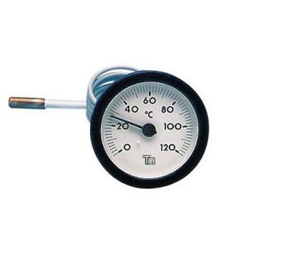 Termometru cu capilar d57.5 mm 120 grade