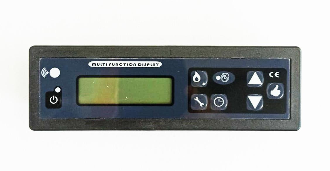 Afisaj/Display comanda electronica soba pe peleti Fornello Sophia Premium 11 kW imagine fornello.ro