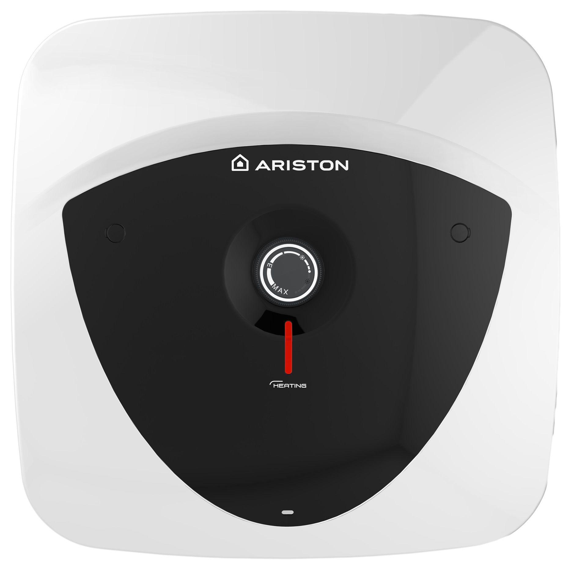 Boiler electric Ariston Andris LUX 15 EU, 15 l, 1200 W, Led iluminat, Protectie electrica IPX5, Montare deasupra chiuvetei, Reglaj extern de temperatura imagine fornello.ro