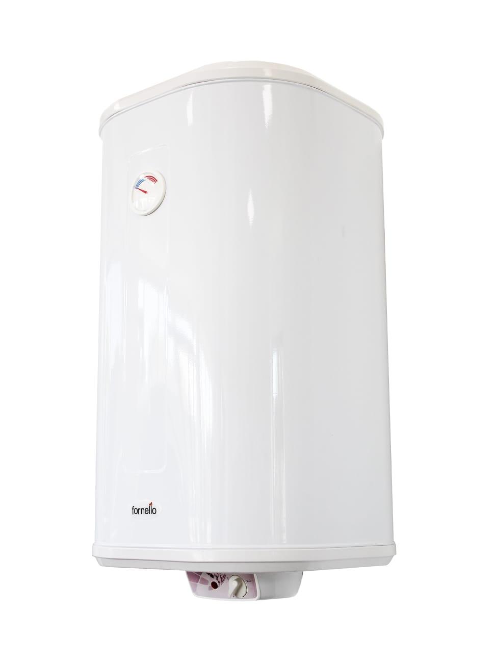 Boiler electric Fornello Prismatic 80 litri, 2000 watt, reglaj extern al temperaturii, emailat cu titan, cablu, stecher , supapa de siguranta imagine fornello.ro
