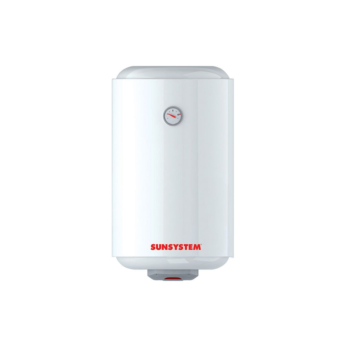 Boiler electric Sunsystem MB 80 Slim , 2000 W, 80 l, 0.8 Mpa, Izolatie termica, Protectie electrica IPX3, Reglaj extern de temperatura imagine fornello.ro