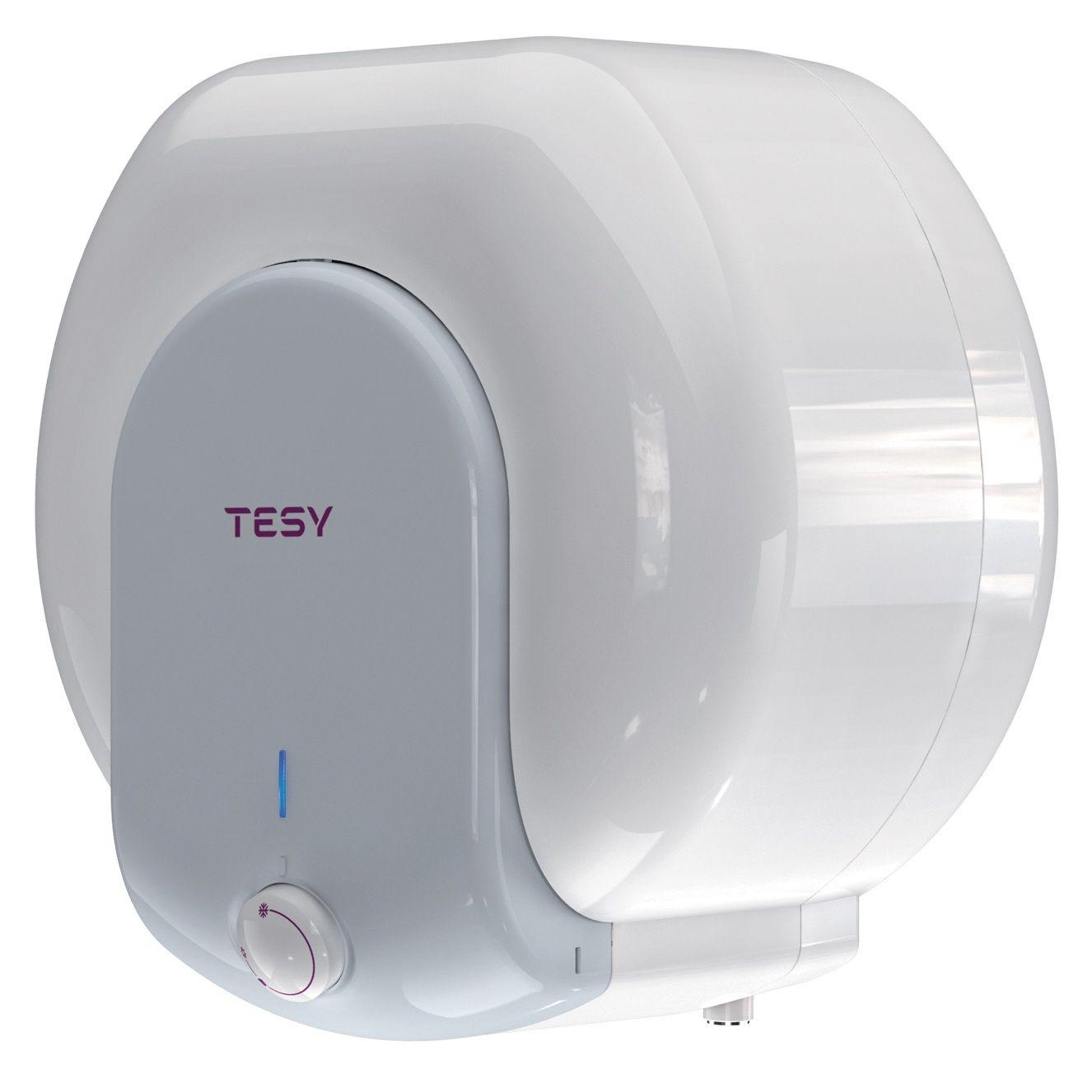 Boiler electric Tesy Compact Line GCA 1015 L52RC, 1500 W, 10 l, 0.9 Mpa, Termostat reglabil, Montare deasupra chiuvetei, Alb imagine fornello.ro