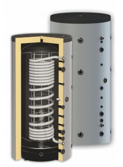 Boiler igienic combinat SUNSYSTEM HYG B 1500, fără serpentină, 1500 litri, pentru producerea și depozitarea apei calde menajere igienice și încălzire fornello imagine