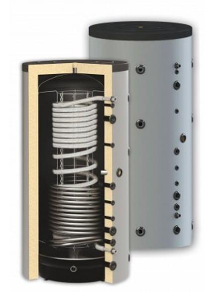 Boiler igienic combinat SUNSYSTEM HYG BR 1000, cu o serpentină, 1000 litri, pentru producerea și depozitarea apei calde menajere igienice și încălzire imagine fornello.ro
