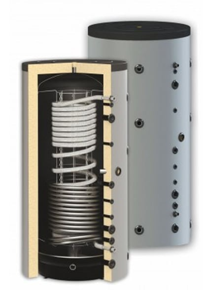 Boiler igienic combinat SUNSYSTEM HYG BR 500, cu o serpentină, 500 litri, pentru producerea și depozitarea apei calde menajere igienice și încălzire fornello imagine