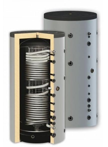 Boiler igienic combinat SUNSYSTEM HYG BR2 1000, cu doua serpentine, 1000 litri, pentru producerea și depozitarea apei calde menajere igienice și încălzire imagine fornello.ro