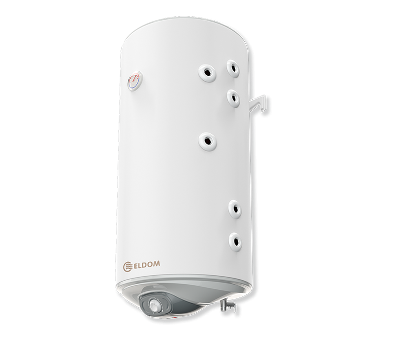 Boiler mixt cu 2 serpentine in paralel Eldom GREEN LINE WV10046S21R , capacitate 100 l, 2 kW fornello imagine
