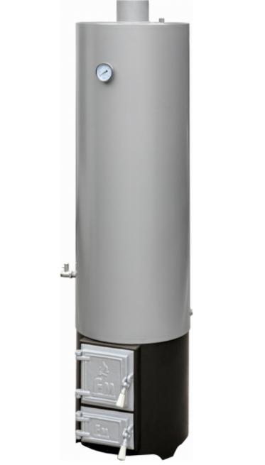 Boiler pe lemne Fornello din otel 120 L cu focar cu usi din fonta imagine fornello.ro