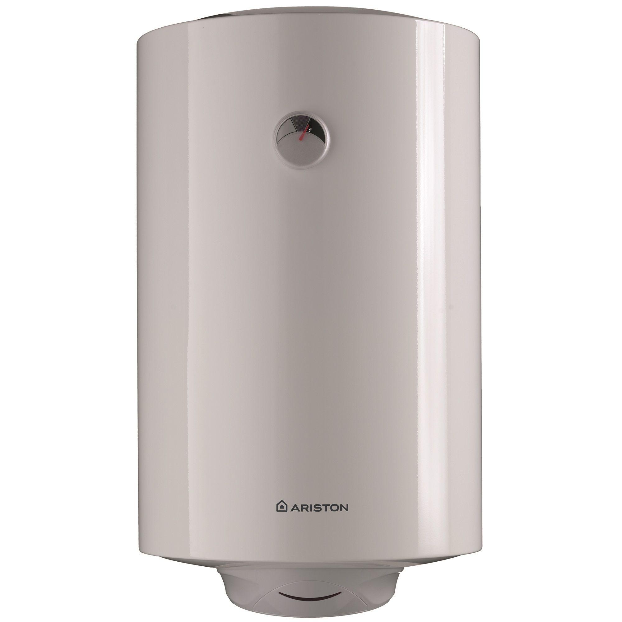 Boiler termoelectric Ariston Pro R VTS 120 EU, 2000 W, 120 l, 0.8 Mpa, Serpentina pe partea stanga, Izolatie termica, Protectie electrica IPX4, Reglaj extern de temperatura imagine fornello.ro
