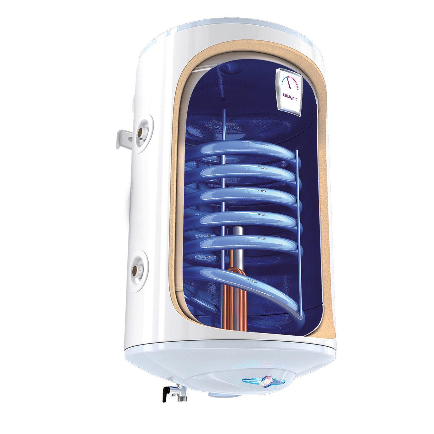 Boiler termoelectric cu serpentina TESY BiLight GCVSL 1004420 B11 TSR, 100 litri, Serpentina pe partea stanga, 0.8 Mpa, 18 mm imagine fornello.ro