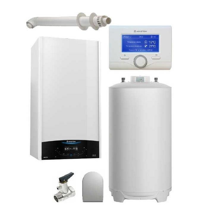 Centrala termica in condensare Genus One System 24 cu boiler BCH 200 L imagine fornello.ro