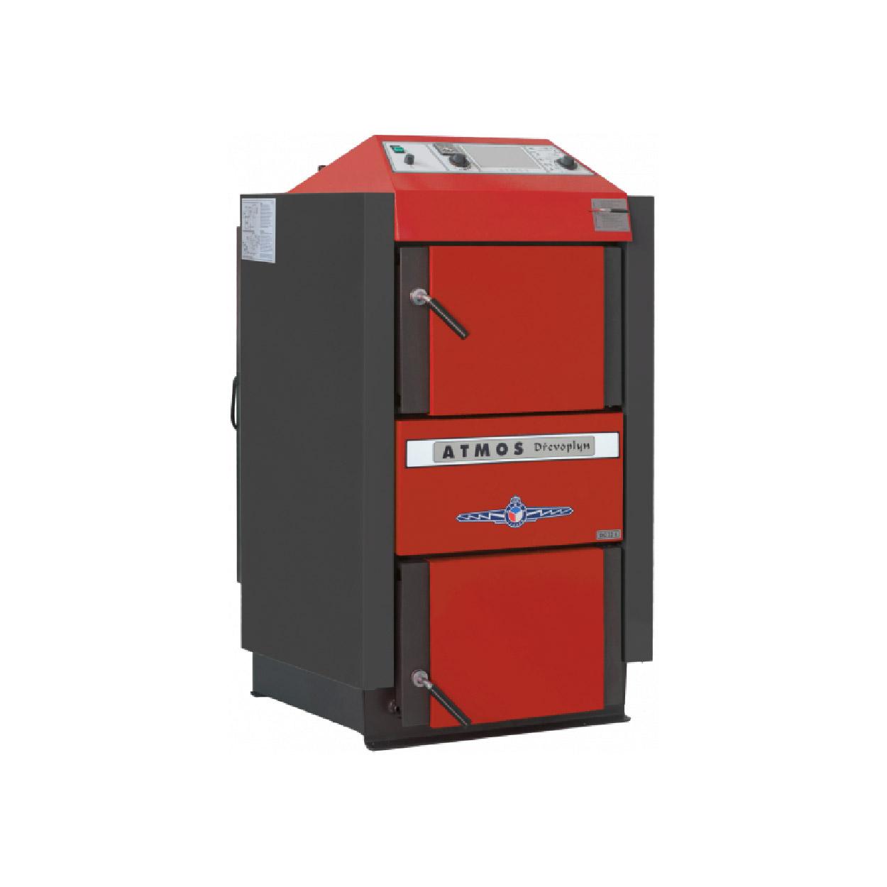 Centrala termica pe combustibil solid ATMOS C50S 48 kW fornello imagine
