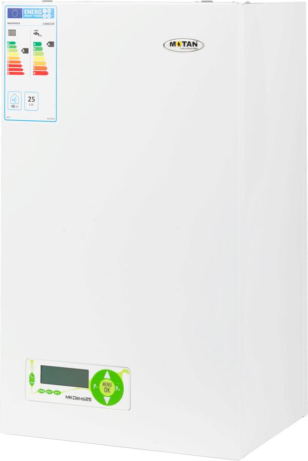 Centrala termica pe gaz in condensatie MOTAN MK DENS 25, grup hidraulic compozit, kit evacuare inclus imagine fornello.ro
