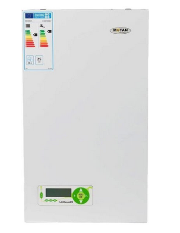 Centrala termica pe gaz in condensatie MOTAN MK DENS 29, grup hidraulic din alama, kit evacuare inclus imagine fornello.ro