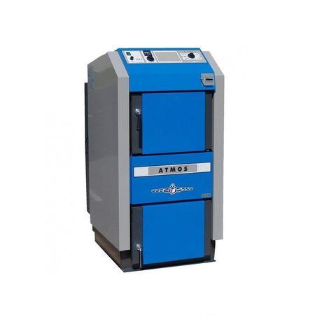 Centrala termica pe lemne ATMOS DC40SX 40 kw fornello imagine