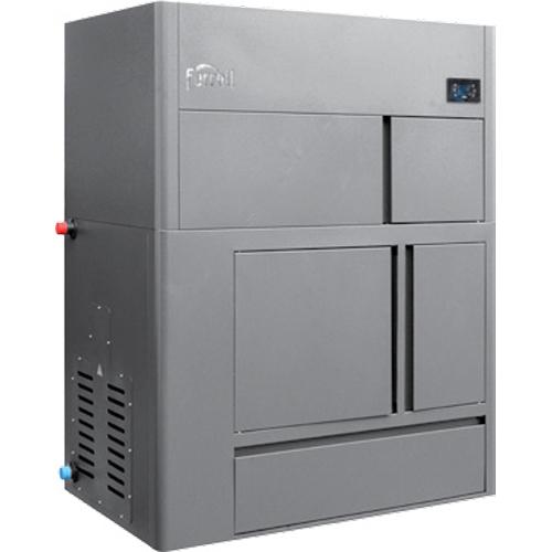 Centrala termica pe peleti cu autocuratare Ferroli BioPellet Tech SC 44 S - 44 kW imagine fornello.ro