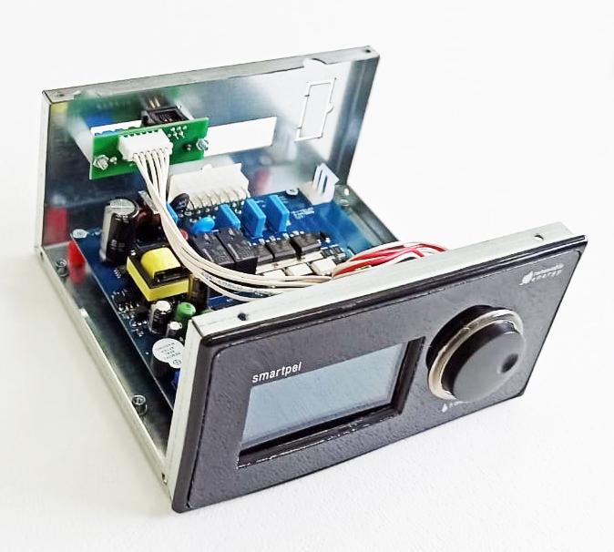 Kit automatizare format din Display si Placa electronica Centrale pe peleti Fornello Rossi Camino Compact 25/35 kW imagine fornello.ro